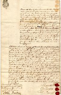 Bastardy bond, 1751 (EP/Du.SO 112/4/7) – Copyright © Durham County Record Office.