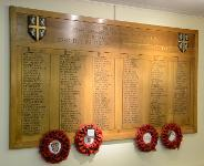 Durham County Council war memorial, County Hall - Copyright © Durham County Record Office.