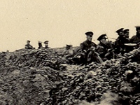 Durham Light Infantry in trenches, Second Battle of Ypres, 25 April 1915 (D/DLI 7/424/2(44))