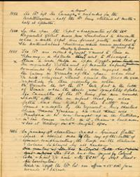 History of 2nd Battalion for 1885 (D/DLI 2/2/17) - Copyright © Durham County Record Office