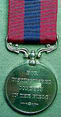 DCM medal (courtesy of the DLI Museum)