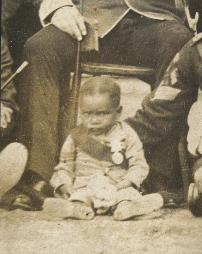 Photograph as baby, 1886 (D/DLI 7/194/1) - Copyright © Durham County Record Office.