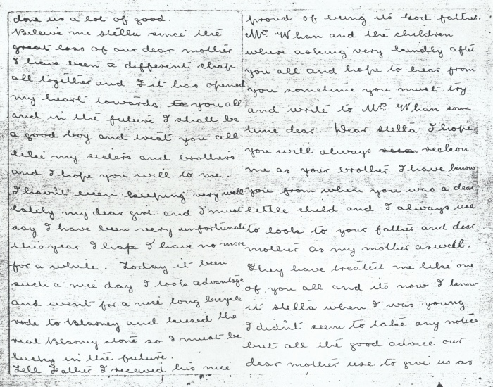 Letter 17 April 1908 (2) (Courtesy of the DLI Museum) - Copyright © Durham County Record Office.