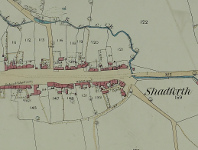 An example six inch to a mile Ordnance Survey map, c.1850