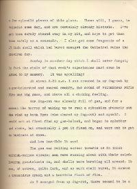 Letter from Second Lieutenant Gamble, 23 December 1915, p.2 (Acc. 3290(D)) - Copyright © Durham County Record Office.
