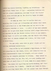 Letter from Second Lieutenant Gamble, 23 December 1915, p.3 (Acc. 3290(D)) - Copyright © Durham County Record Office.
