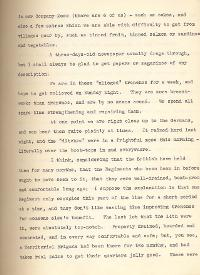 Letter from Second Lieutenant Gamble, 23 October 1915 (Acc. 3290(D)) - Copyright © Durham County Record Office.