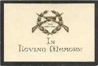 In Memoriam card for Private Longthorn, July 1918, p.1 (D/DLI 7/353/7) - Copyright © Durham County Record Office.