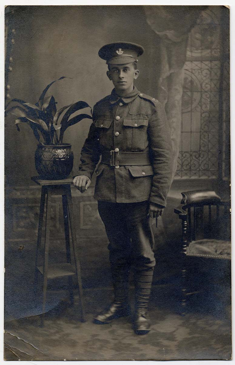 Photograph of Sergeant Constantine (D/DLI 7/137/54) - Copyright © Durham County Record Office.