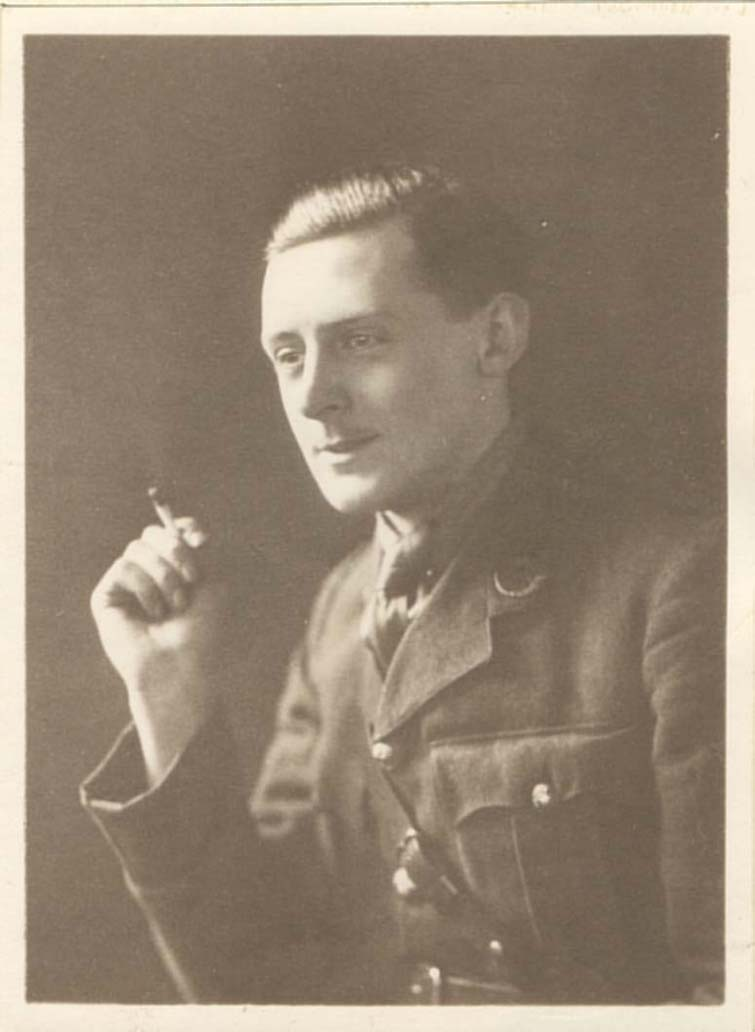Photograph of Second Lieutenant Gamble (Acc. 3290(D)) - Copyright © Durham County Record Office.