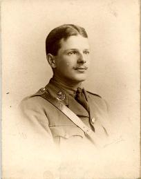 Photograph of Second Lieutenant Rees (D/DLI 7/560/12A) - Copyright © Durham County Record Office.