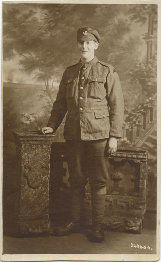 Photograph of Private Smith (D/DLI 7/963/2) - Copyright © Durham County Record Office.