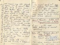 Letter from Second Lieutenant Rees, 28 December 1915, p.6 (D/DLI 7/560/4) - Copyright © Durham County Record Office.