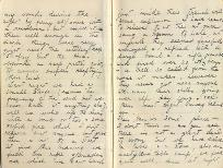 Letter from Second Lieutenant Rees, 28 December 1915, p.8 (D/DLI 7/560/4) - Copyright © Durham County Record Office.