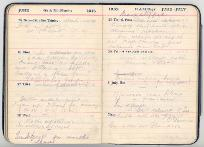 Extract from Sergeant Barclay's diary, 1 July 1916 (D/DLI 7/41/2) - Copyright © Durham County Record Office.