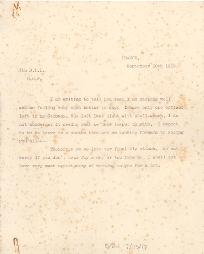 Letter from Lieutenant Catford, 30 September 1916 (D/DLI 7/115/17) - Copyright © Durham County Record Office.