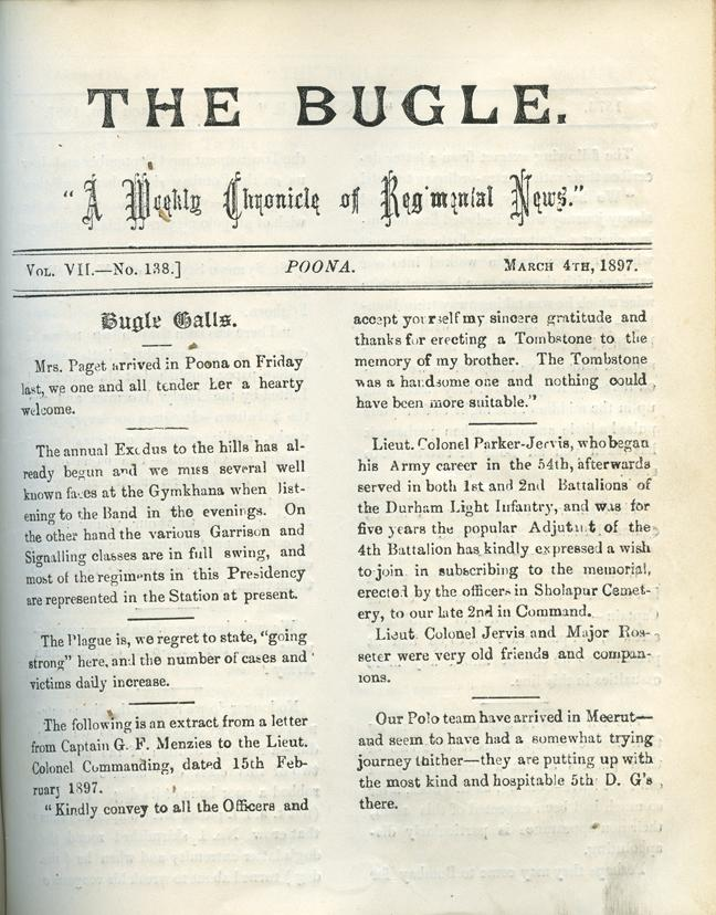 The Bugle, 4 March 1897