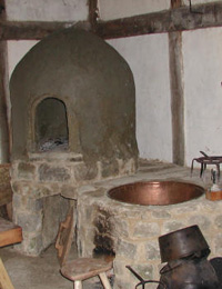 Bread Oven - Photograph provided by The Weald and Downland Open Air Museum, Chichester, West Sussex