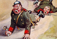 World War 1 cartoon (D/DLI 2/18 (119))