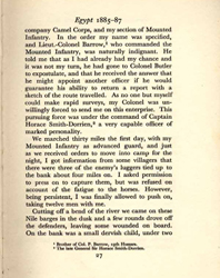 De Lisle, Reminiscences, p.27 (Courtesy of the DLI Museum) - Click to enlarge