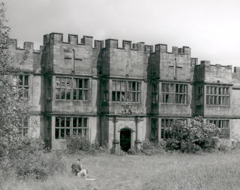 Gibside Hall exterior, mid 20th century (D/CL 5/429)