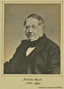 Portrait of Nicholas Wood, 1860s (NCB 2/19(14)) - © Durham County Record Office